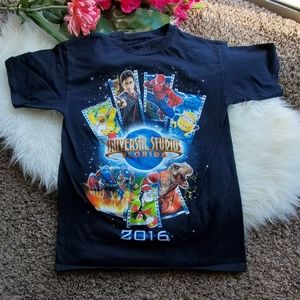 2016 Universal Studios Navy Blue Tshirt Large